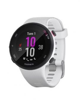 Reloj deportivo con gps Garmin Forerunner 45S blanco - 39mm multisport notificaciones 5atm iphone/android