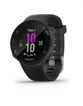 Reloj deportivo con gps Garmin Forerunner 45S 39mm Negro - 5atm multisport - notificaciones - iphone/android