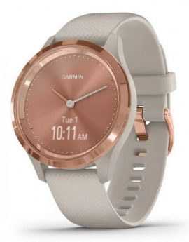 Smartwatch Garmin Sportwatch Vivomove 3S Rose Gold/Beige