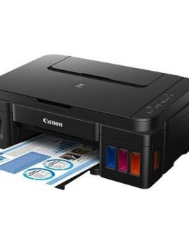 Multifuncion canon pixma g2501 - 8/5ppm - 4800x1200ppp - scan 600x1200 - usb - impresión sin bordes - depositos tinta