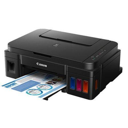 Multifuncion canon pixma g2501 - 8/5ppm - 4800x1200ppp - scan 600x1200 - usb - impresión sin bordes - depositos tinta