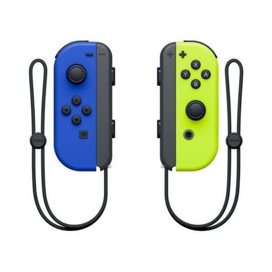 Mandos inalámbricos Nintendo Joy-Con para Nintendo Switch - azul y amarillo neón