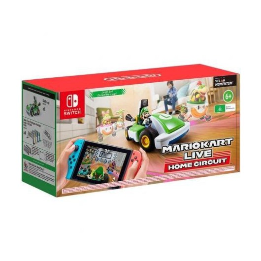 Juego para consola Nintendo Switch Mario Kart Live: Home Circuit Luigi