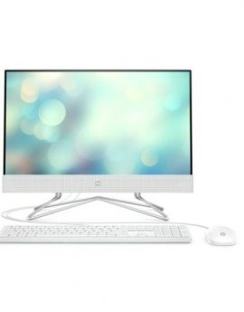 All in one HP 22-DF0039NS i5-1035g1 4GB 1TB 21.5'' tec+raton sin S.O. Blanco nieve