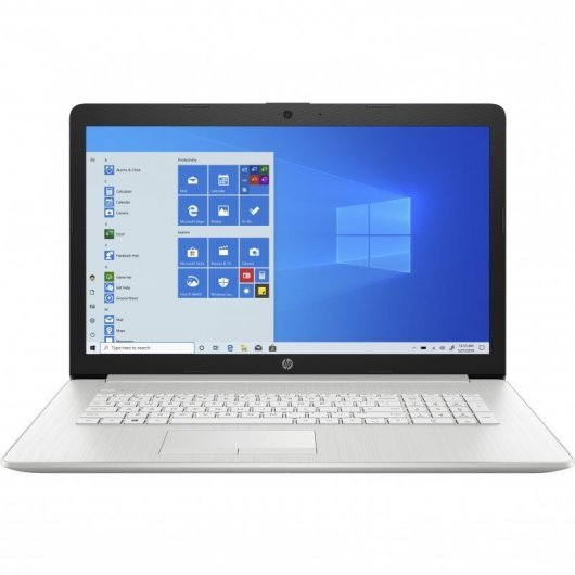 Portatil HP 17-BY3003ns i5-1035G1 16GB 512GB SSD MX330 2gb 17.3' w10 Plata natural