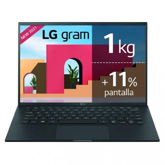Portatil LG Gram 14Z90P i7-1165G7 16GB 1TB SSD 14' w10 Negro
