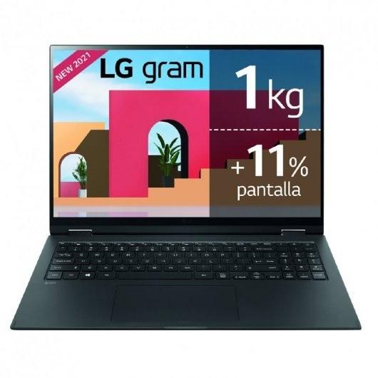 Portatil LG Gram 16Z90P i5-1135G7 16GB 512GB SSD 16' w10 Negro