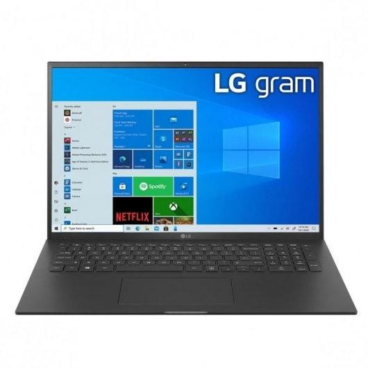 Portatil LG Gram 17Z90P-G.AA78B i7-1165G7 16GB 512GB SSD 17' w10 Negro