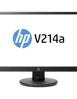 Monitor 20.7 Hdmi Vga Hp V214 Led  Fhd 1920x1080 5ms 200cd/m Multimedia Color Negro