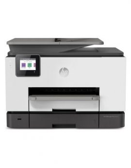 Multifunción hp wifi con fax officejet pro 9020 - 24/20ppm - duplex - scan doble cara - usb host - lan - adf - bandeja 250