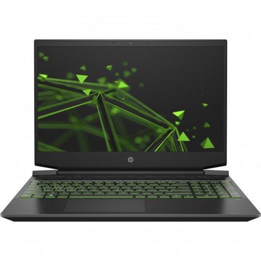 HP Pavilion Gaming 15-EC1022NS AMD Ryzen 5-4600H 8GB 512GB SSD GTX1650 4gb 15.6' sin S.O. Negro