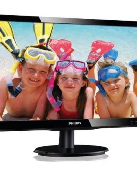 Monitor led multimedia philips 200v4lab2 - 19.5'/49.5cm 1600x900 - 60hz - 5ms - 10m:1 - 200cd/m2 - vga - dvi-d - 2x2w - negro