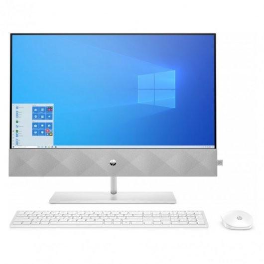 HP Pavilion All-in-One 24-k0028ns i5-10400T 8GB 512GB SSD MX350 2gb 23.8' w10 Blanco
