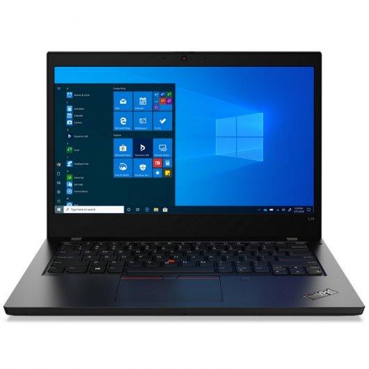 Portatil Lenovo ThinkPad L14 i5-10210U 8GB 256GB SSD 14' w10pro Negro