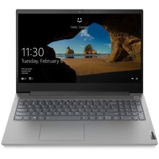 Portatil Lenovo ThinkBook 15IIL-IMH i5-10300H 16GB 512GB SSD GTX1650 4gb 15.6' w10pro Gris mineral