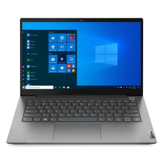 Portatil Lenovo ThinkBook 14 i3-1115G4 8GB 256GB SSD 14' w10pro Gris mineral