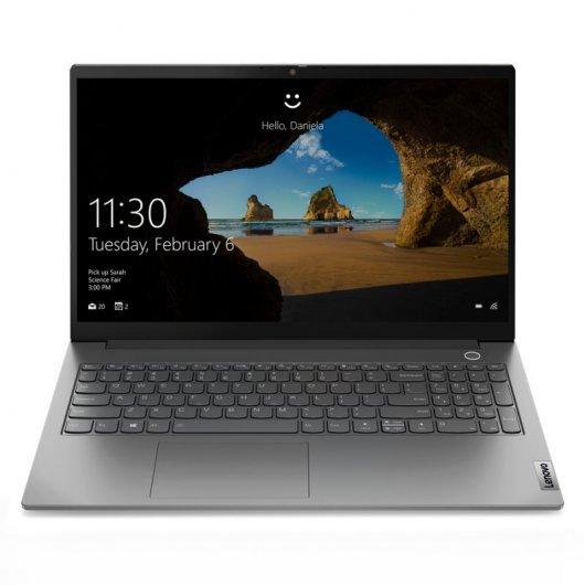 Lenovo ThinkBook 15 20VE0006SP i5-1135G7 16GB 512GB SSD 15.6' w10 Gris mineral