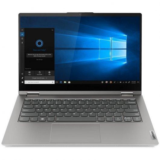 Portatil 2-en-1 Lenovo ThinkBook 14s Yoga (20WE0002SP) i5-1135G7 8GB 256GB SSD 14' Táctil w10pro Gris
