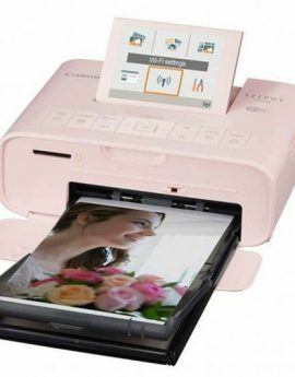 Impresora Canon Selphy CP1300 sublimacion color photo 300x300ppp wifi rosa