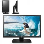 Monitor led multimedia lg 22mb37pu-b - 22'/55cm - 1920x1080 - 250cd/m2 - 5m:1 - 5ms - vga/dvi-d - usb 3.0 - 2x1w - pivotante -