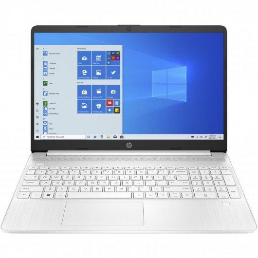 Portatil HP 15S-EQ1035NS AMD Athlon 3020E 4GB 256GB SSD 15.6' w10 Blanco nieve