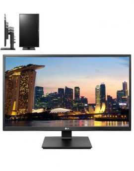 Monitor led multimedia LG 24BK550Y-B - 23.8' 16:9 - 250cd/m2 - 2x1.2W - vga/dvi-d/hdmi/displayport - pivotante - altura regulable