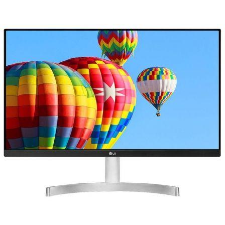 Monitor led lg 24mk600m-w blanco - 23.8'/60.4cm ips - 1920*1080 - 16:9 - 250cd/m2 - 5ms - vga - 2*hdmi - radeon freesync - modo