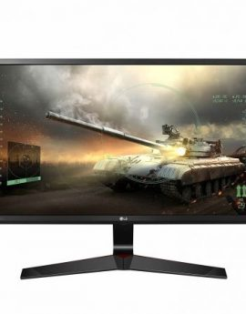 Monitor gaming lg 24mp59g - 23.8'/60cm ips - 1920x1080 - 16:9 - 250cd/m2 - vga - hdmi - displayport - division pantalla en 4