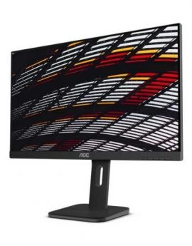 Monitor AOC Pro-line 24P1 23.8' LED FullHD multimedia negro - altura regulable