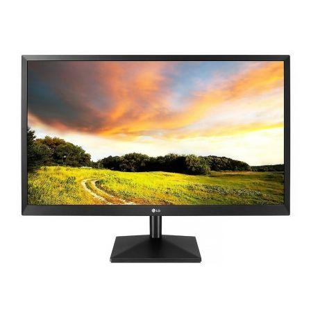 Monitor led lg 27mk400h-b - 27'/68.6cm - 1920x1080 - 16:9 - 300cd/m2 - 2ms - vga - hdmi - protección antiparpadeo - negro