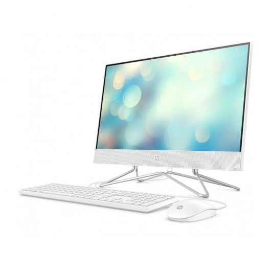 All-in-One HP 22-DF0045ns Celeron J4025 21.5' 8GB 512GB SSD w10 Blanco Nieve