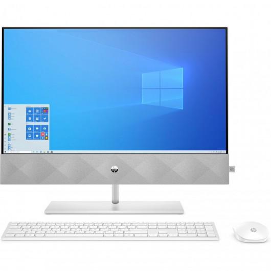 All-in-One HP Pavilion 24-K0029ns i5-10400T 8GB 512GB SSD MX350 2gb 23.8' w10 Blanco Nieve