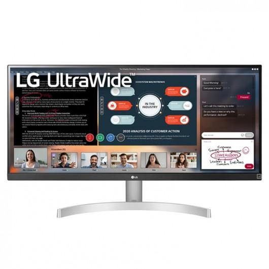 Monitor LG 29WN600-W 29' LED IPS UltraWide FullHD FreeSync Negro Plata