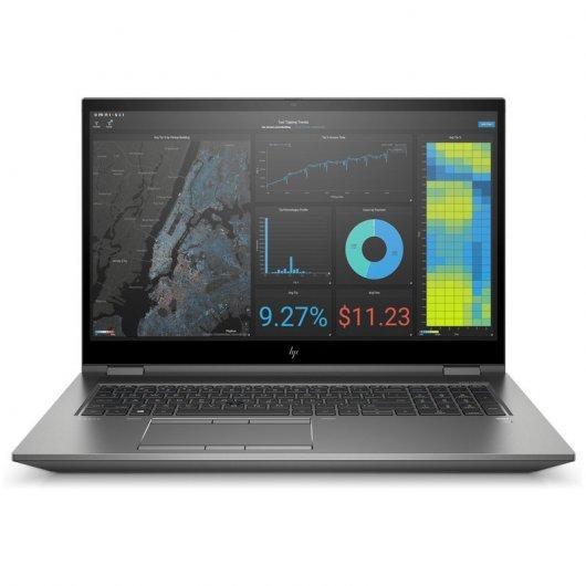 Portatil HP ZBook Fury 17 G7 2C9V1EA i7-10750H 16GB 512GB SSD Quadro RTX3000 6gb 17.3' w10pro Plata