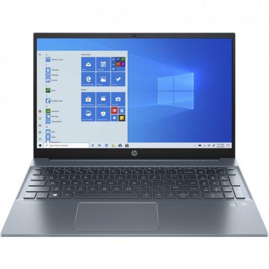 Portatil HP Pavilion 15-EG0009NS i5-1135G7 16GB 512GB SSD MX350 2gb 15.6' w10 Azul Niebla
