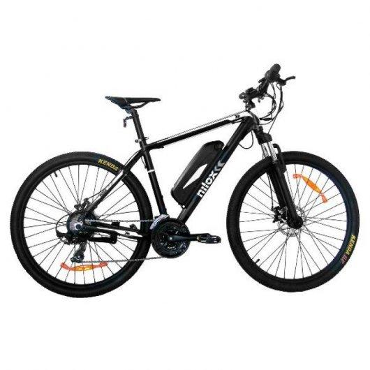 Nilox X6 Bicicleta Eléctrica de Aluminio Negro