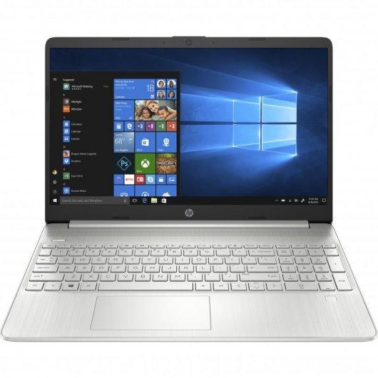 Portatil HP 15S-FQ2026NS i3-1115G4 8GB 256GB SSD 15.6' w10 Plata
