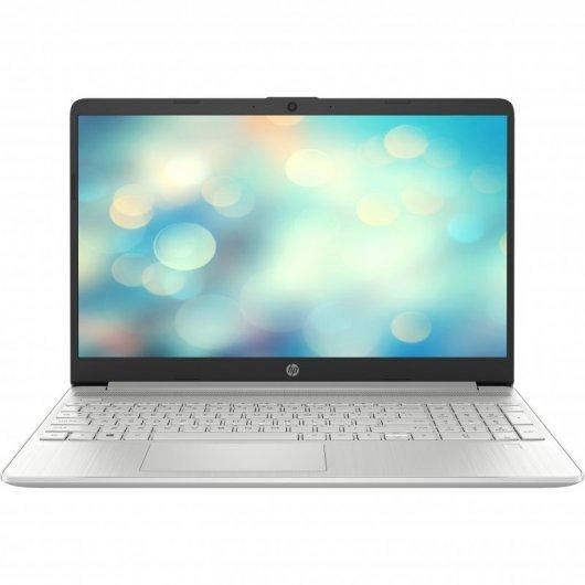 Portatil HP 15S-FQ2027NS i5-1135G7 8GB 512GB SSD 15.6' sin S.O. Plata natural