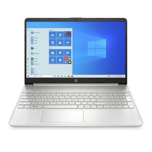 Portatil HP 15S-FQ2030NS i7-1165G7 8GB 512GB SSD 15.6' w10 Plata natural