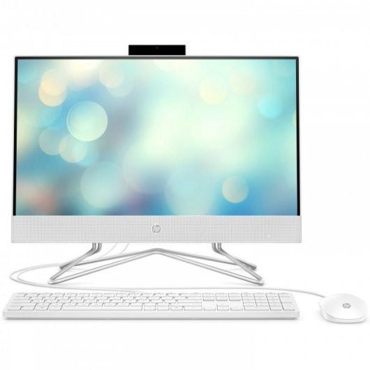 All in One HP 22-DF0062NS i5-10400T 8GB 256GB SSD 21.5' sin S.O. Blanco