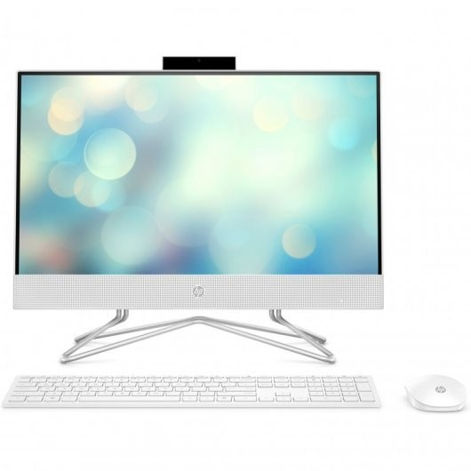 All in One HP 22-DF0061NS i5-10400T 8GB 512GB SSD 21.5' sin S.O. Blanco
