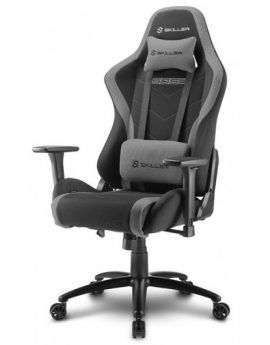 Silla Gaming Sharkoon Skiller SGS2 negra gris 160º