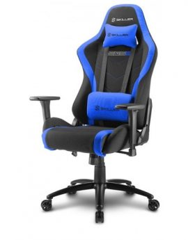 Silla Gaming Sharkoon Skiller SGS2 negro azul 160°
