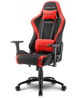 Silla Gaming Sharkoon Skiller SGS2 negro roja 160°