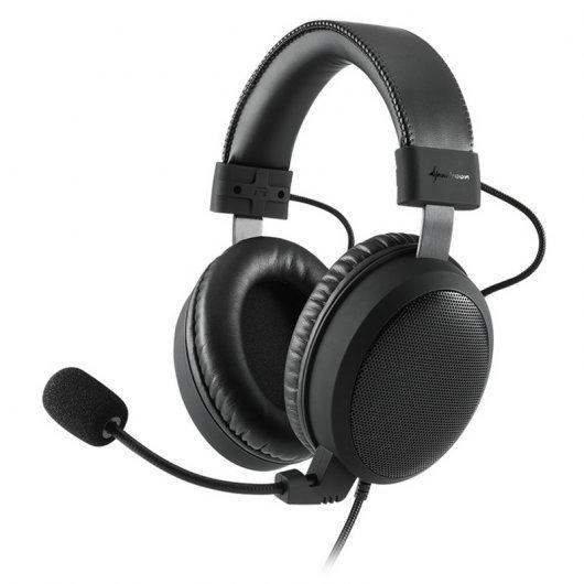 Sharkoon B1 Auriculares Estéreo con micrófono PC/PS4/Xbox One Negro