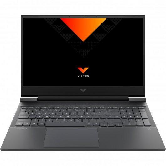 Portatil HP Victus 16-E0015NS AMD Ryzen 7-5800H 16GB 512GB SSD GTX1650 4gb 16.1' sin S.O. Gris