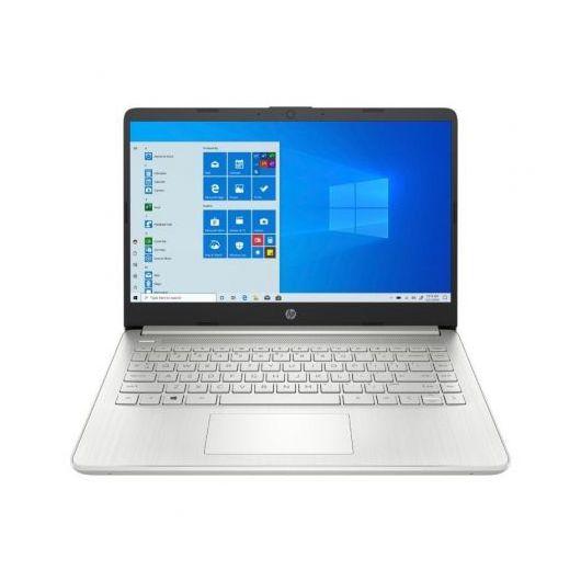 Portatil HP 14S-FQ1002NS Ryzen 3-5300U 8GB 256GB SSD 14' w10 Plata natural