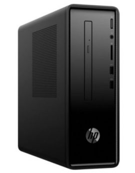 Pc hp slimline 290-p0088ns - i3-8100 3.6ghz - 8gb - 1tb+128gb - dvd rw - vga - hdmi - lan gigabit - wifi ac - bt - w10 - tec +