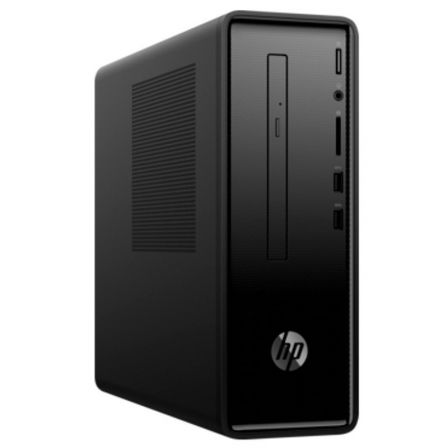 Pc hp slimline 290-p0088ns - i3-8100 3.6ghz - 8gb - 1tb+128gb - dvd rw - vga - hdmi - lan gigabit - wifi ac - bt - w10 - tec +