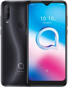 Smartphone Alcatel 3L 2020 4/64GB Dark Chrome - 6.22' cam (48+5+2)/8mpx - 4G - dualsim - bat.4000mah